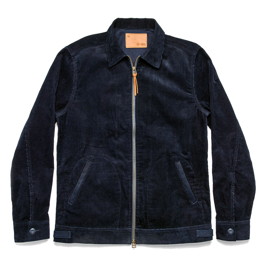 The Piston Jacket - Indigo Corduroy