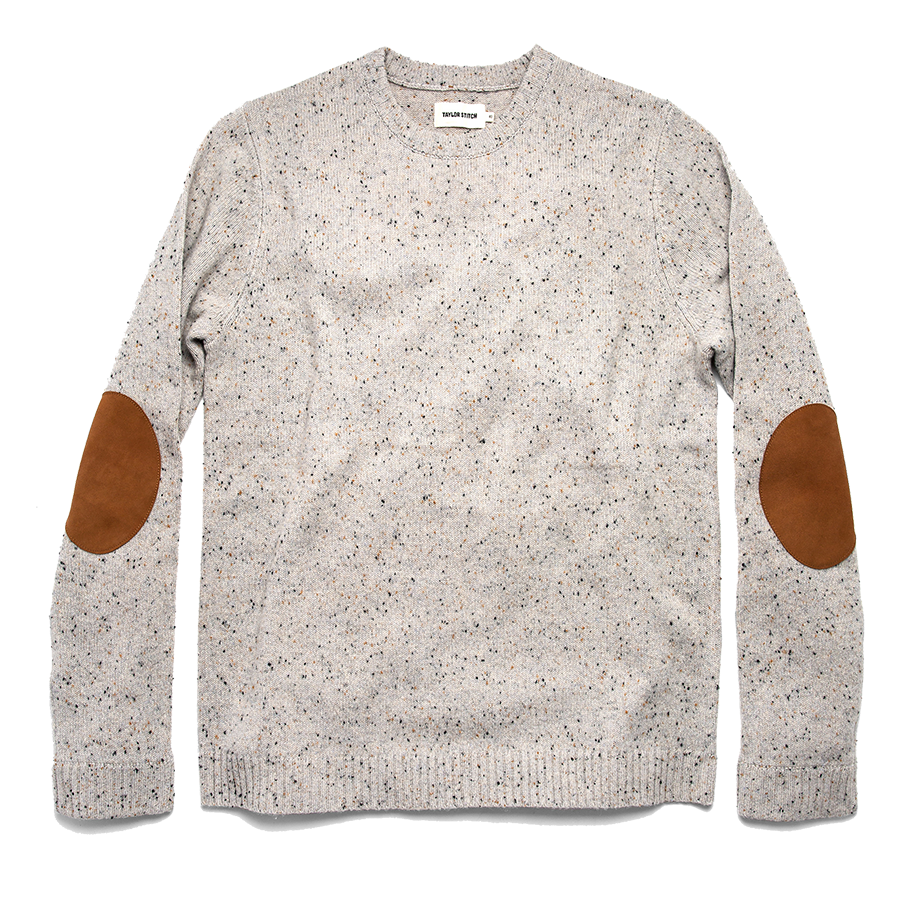 The Hardtack Sweater - Polar Yak Donegal