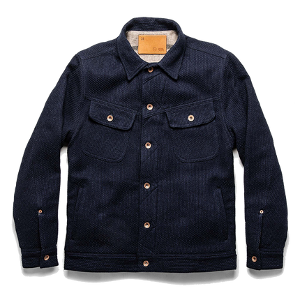 The Long Haul Jacket - Indigo Sashiko