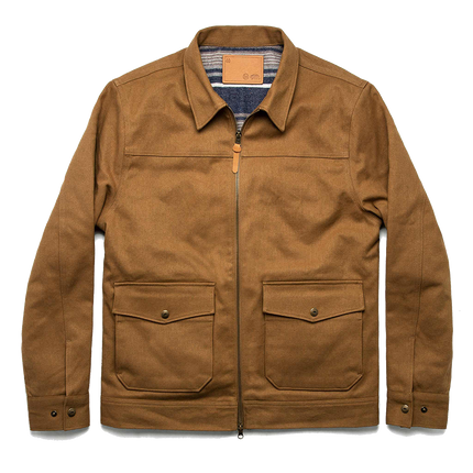 The Mechanic Jacket Boss Duck - British Khaki