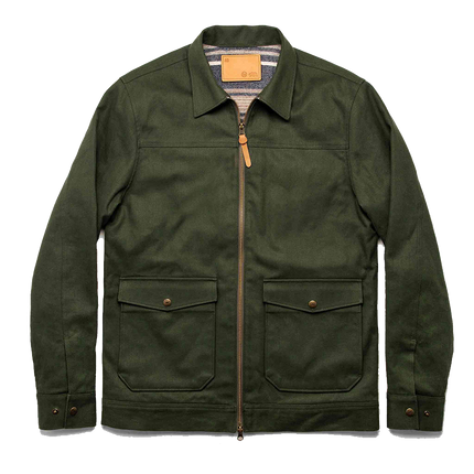 The Mechanic Jacket Boss Duck - Olive