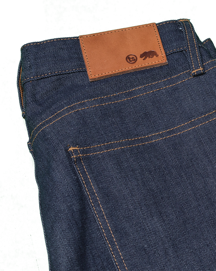 13.5oz '68 Cone Mills Selvedge Denim - Indigo
