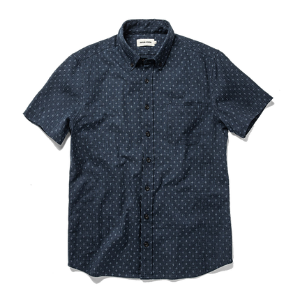 The Short Sleeve Jack - Indigo Star