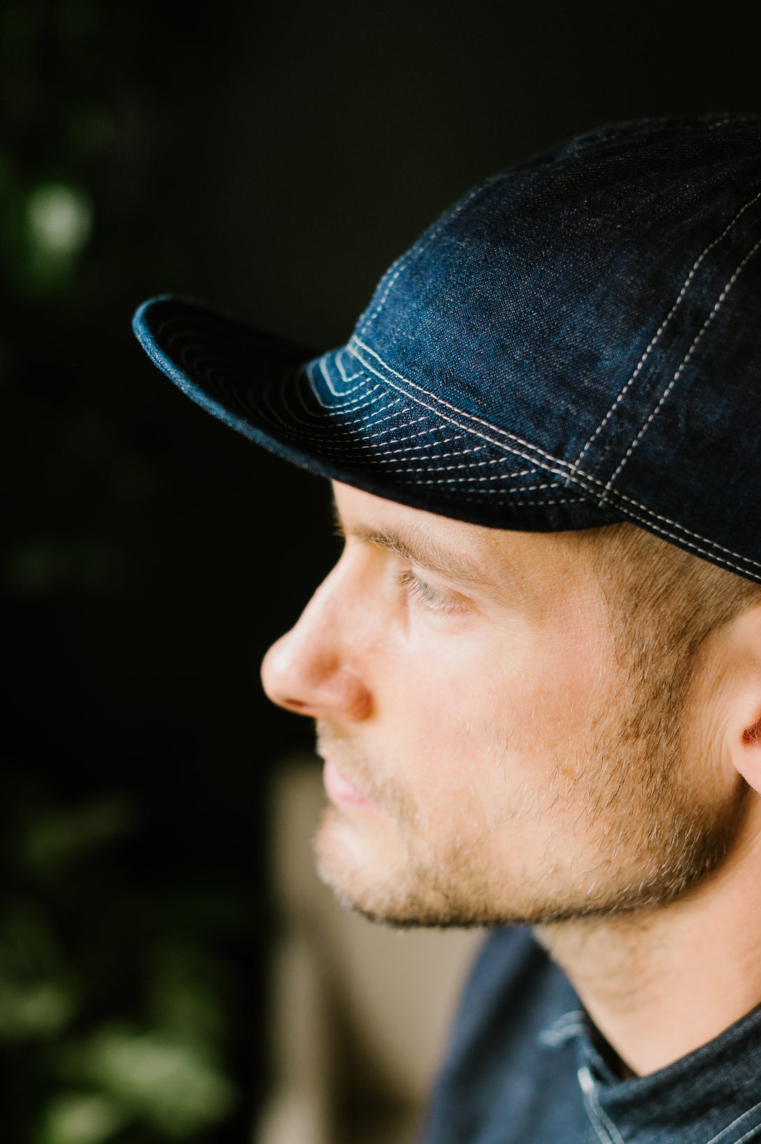 40's Cap - Denim