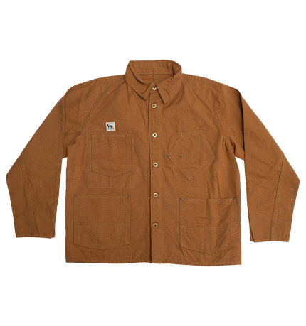 Black Cat Jacket - Brown Canvas