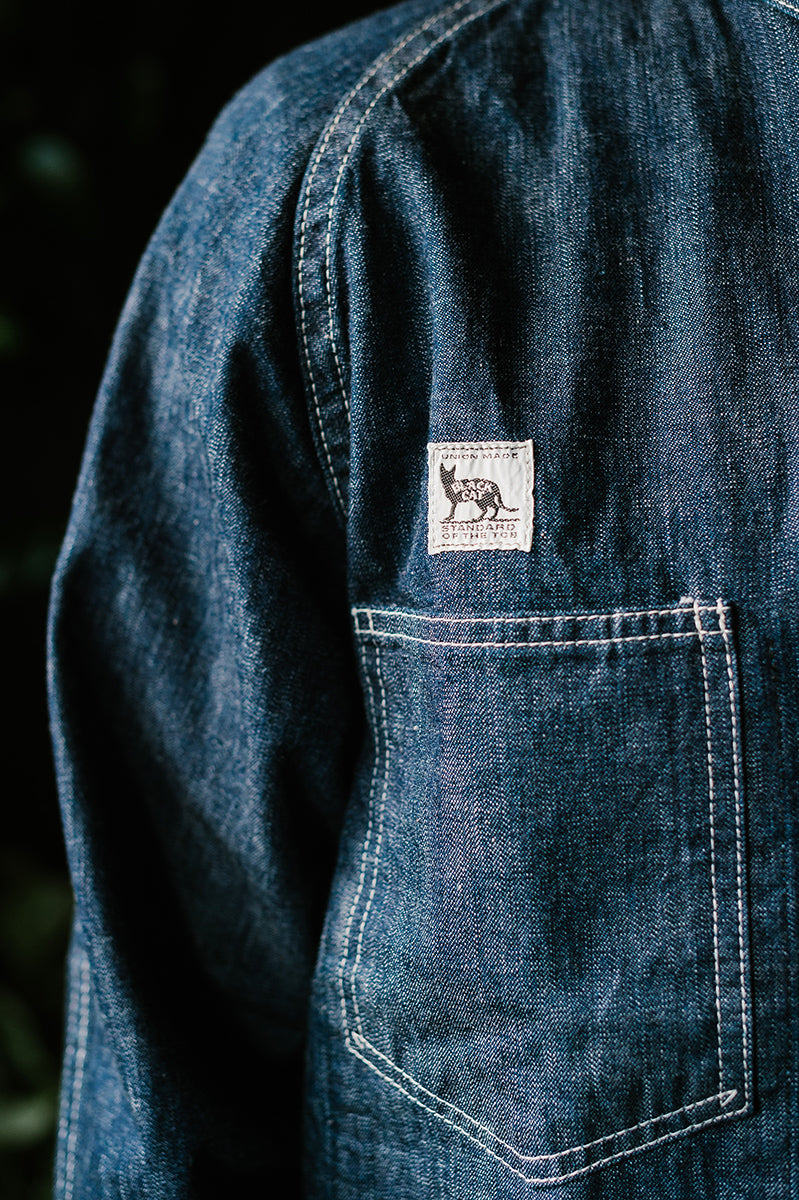 Black Cat Jacket - Denim