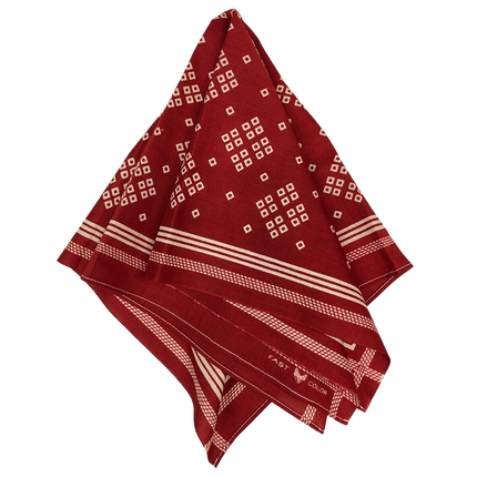 Liberty Selvedge Bandanna - Turkey Red