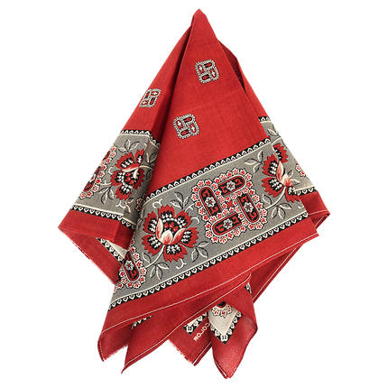 Marvel Selvedge Bandanna - Turkey Red