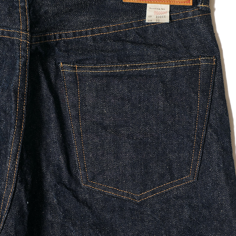 Lot 800XX - 14.5oz Standard Fit Jean - One Rinse