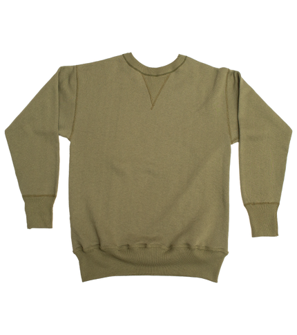 Lot 401 - Loopwheel Sweatshirt - OD Green