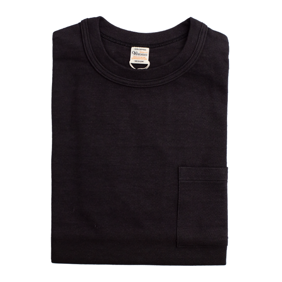 4601 - Slubby Cotton Pocket T-Shirt - Sumikuro