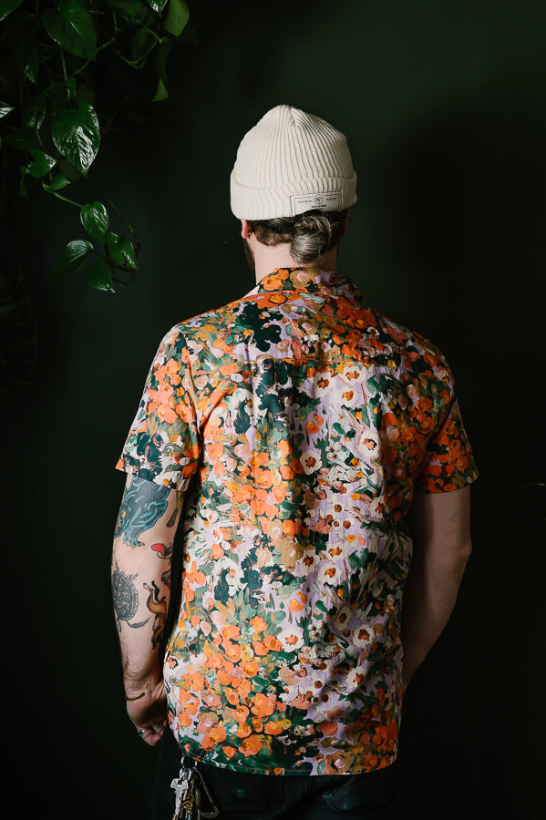 Didcot Short Sleeve Shirt - Monet Print