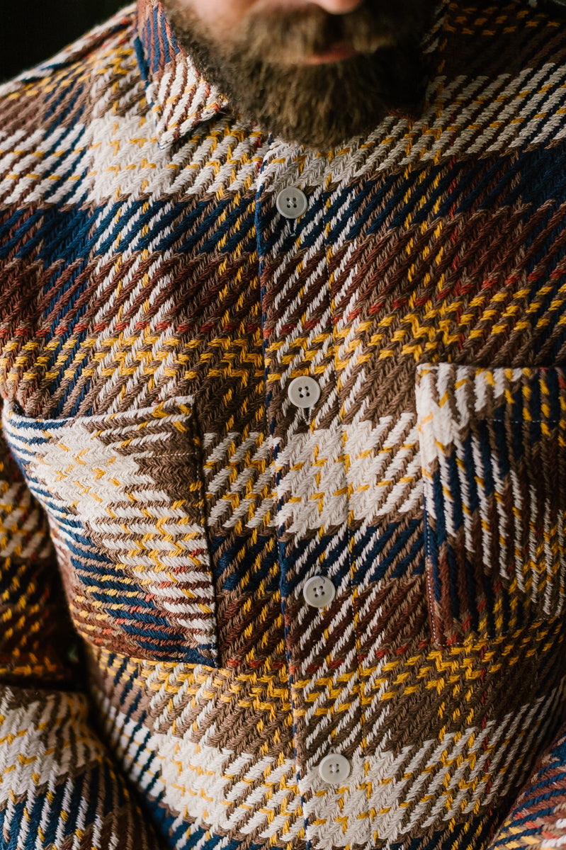 Whiting Shirt Madras - Brown