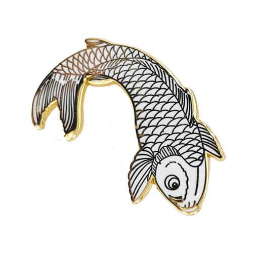 Koi Pin (White Special Edition)