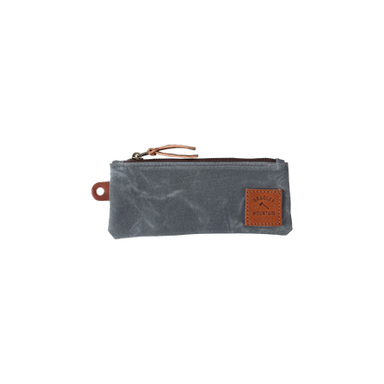Zip Pencil Pouch - Charcoal