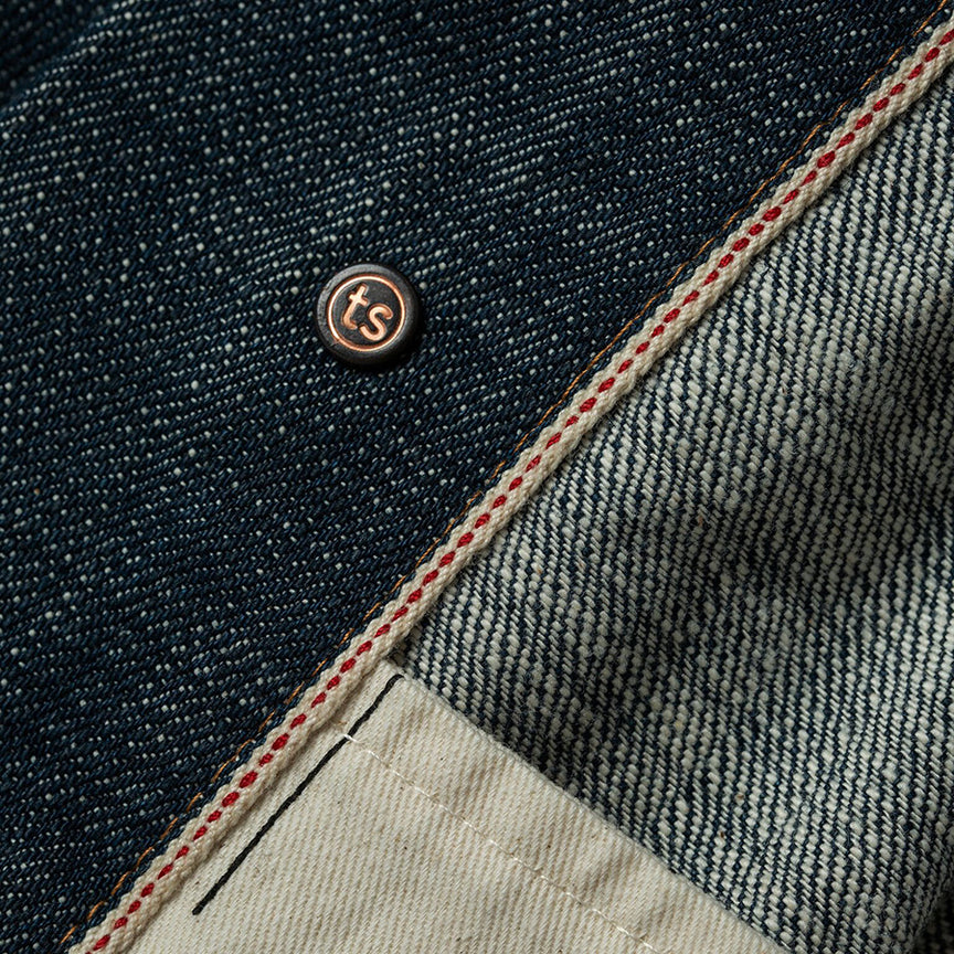 The Long Haul Jacket - Green Cast Selvage