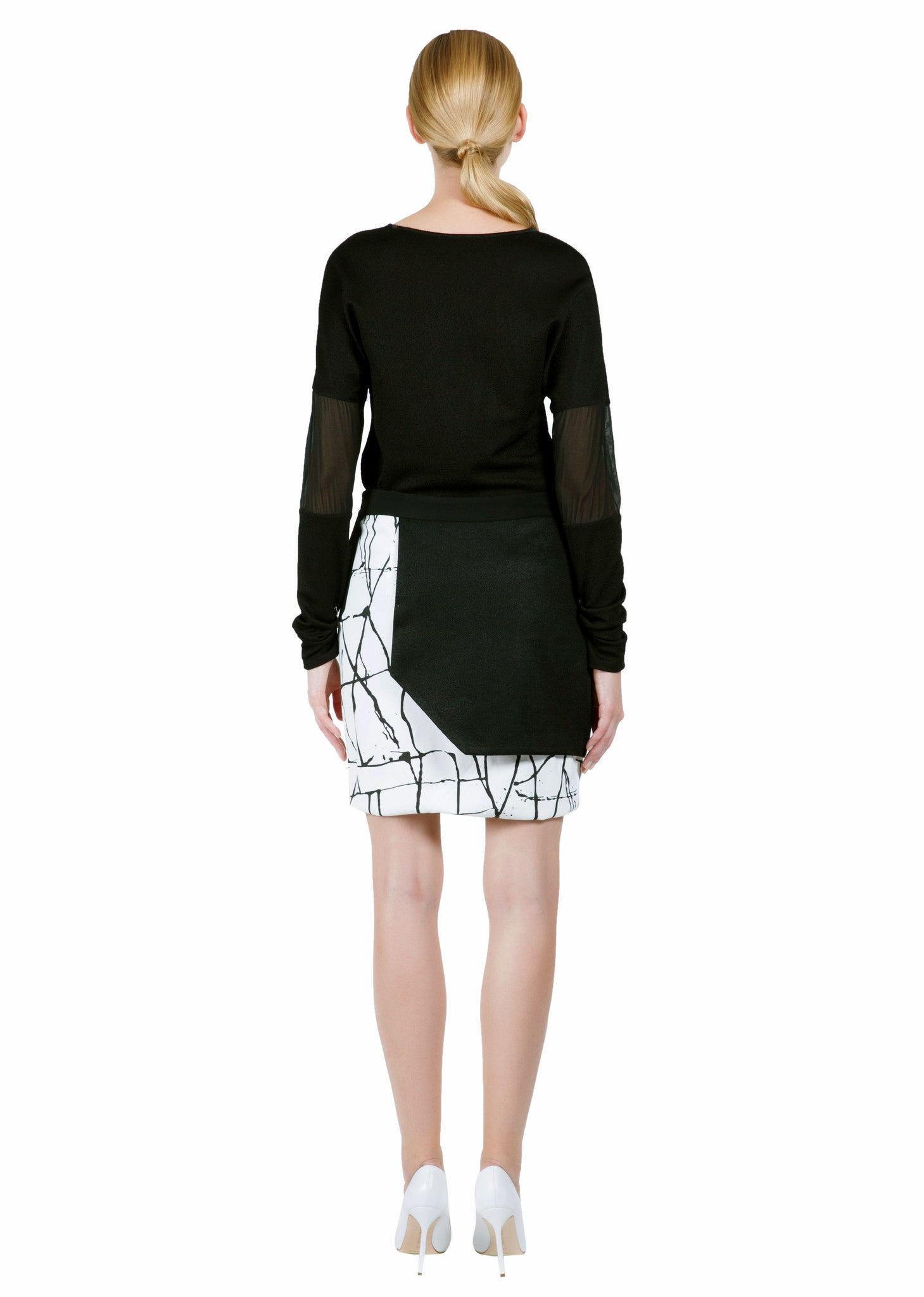 KARIGAM HALF MOON SKIRT