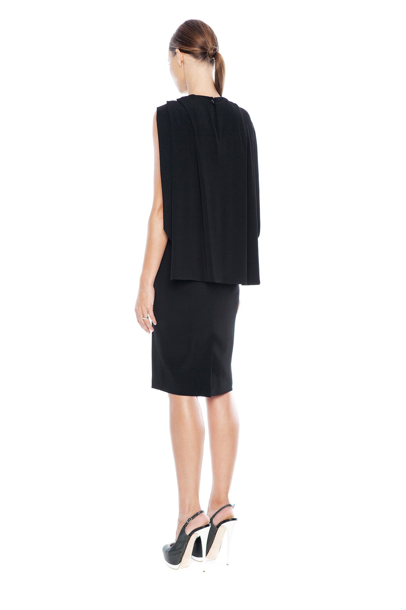 KARIGAM STYLISHNESS CAPE DRESS
