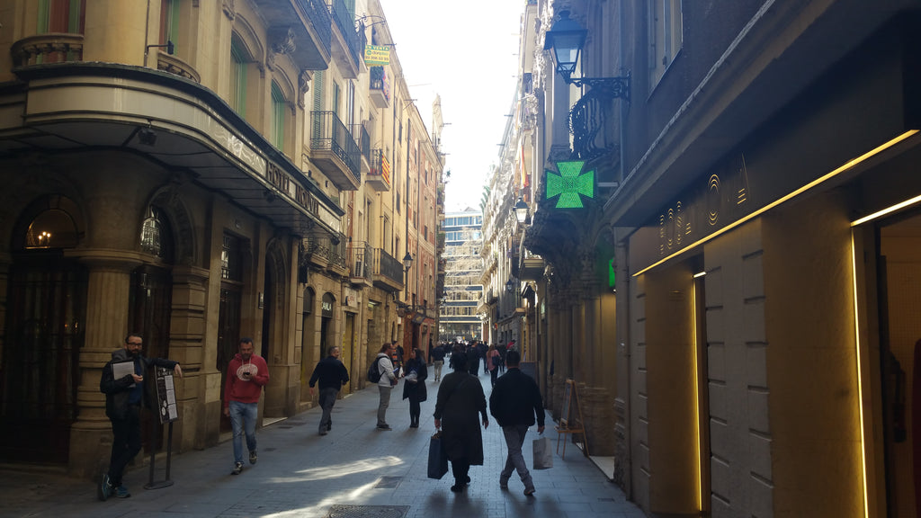 I Love Walking Through the Gothic Quarter in Barcelona