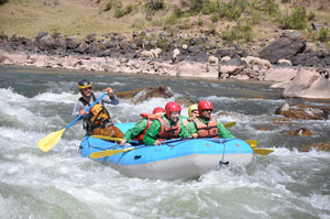 Whitewater Rafting on the Urubamba River, Peru