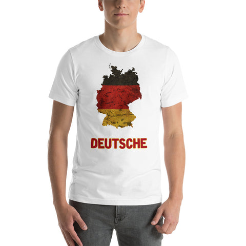 "The German ""Deutsche"" Flag T-Shirt"