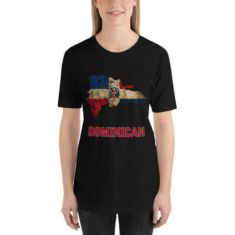 "The Dominican Republic ""Dominican"" Flag T-Shirt"