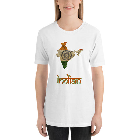 "The India ""Indian"" Flag T-Shirt"