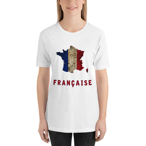 "The France ""Francaise"" Flag T-Shirt"