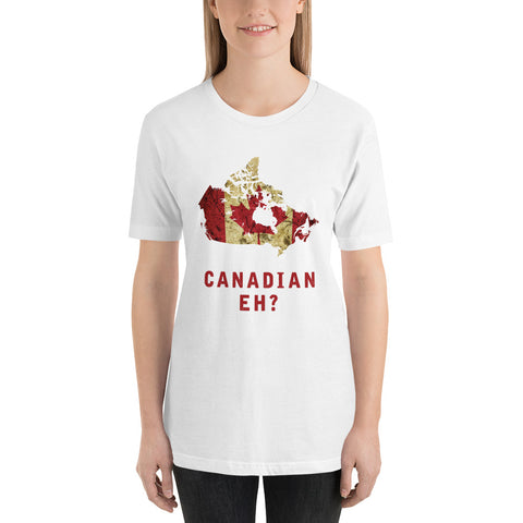 "The Canada ""Canadian EH"" Flag T-Shirt"