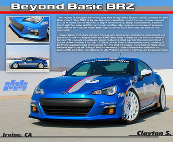"July 2019 - Clayton S. // ""Beyond Basic BRZ"""