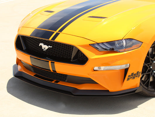 2018+ Ford Mustang 3-Piece Front Splitter [FO-P8T-FSP-03]