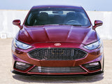 2017-2019 Ford Fusion Sport 3-Piece Front Splitter [FO-P0V-FSP-01]