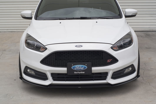 2015 2017 ford focus st 3 piece front splitter rally innovations. Black Bedroom Furniture Sets. Home Design Ideas