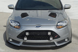 2013-2014 Ford Focus ST 3-Piece Front Splitter [FO-P3L-FSP-01]