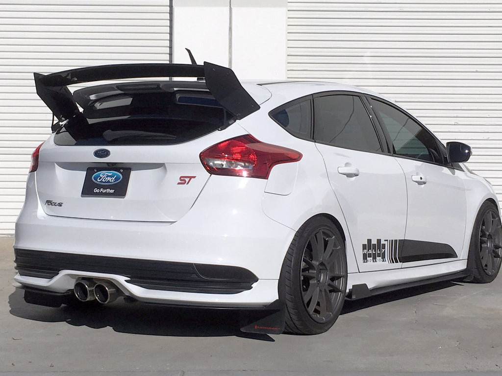 2015 2017 ford focus st rear splitter rally innovations. Black Bedroom Furniture Sets. Home Design Ideas