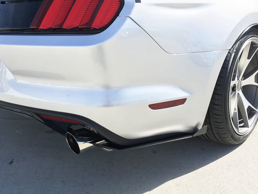 2015-2017 Ford Mustang Rear Splitter [FO-P8T-RSP-01]