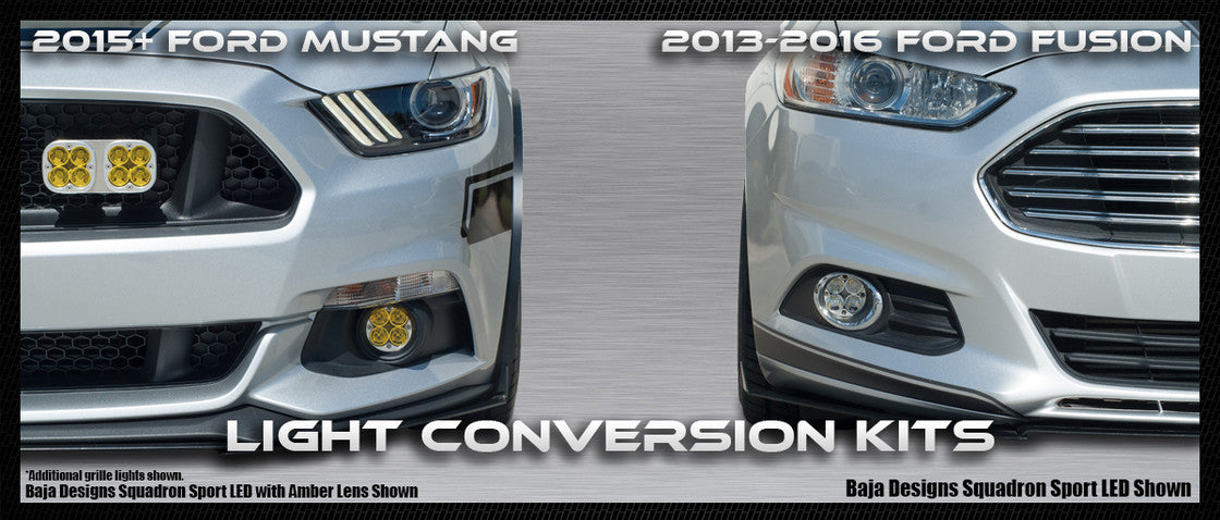 Mustang and Fusion Light Conversion