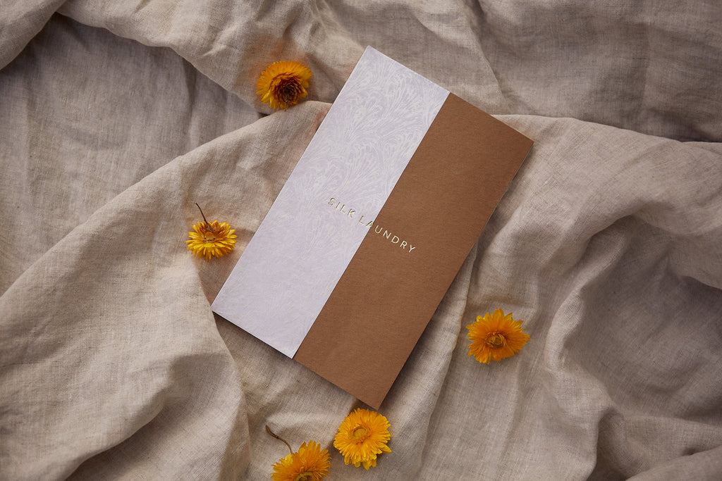 Silk Laundry Monarch Butterfly Notebook x Scribe