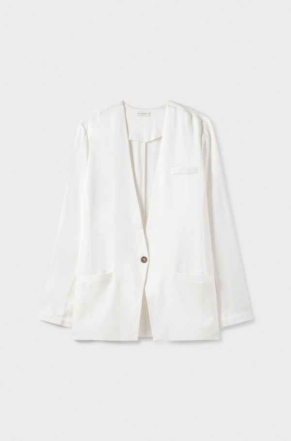 BRIDAL COLLARLESS BLAZER
