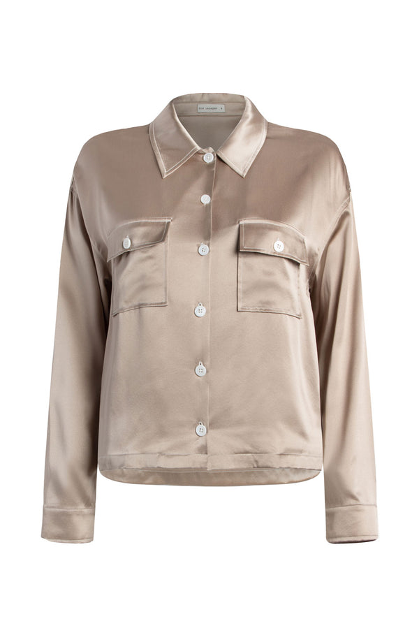JACKET SHIRT ALUMINIUM
