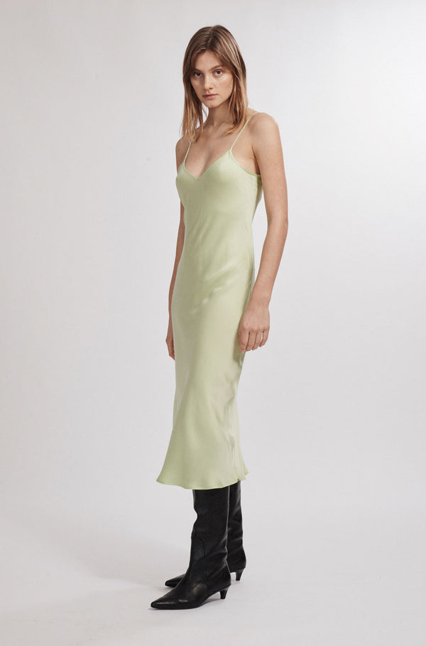 90S SILK SLIP DRESS LUMINARY