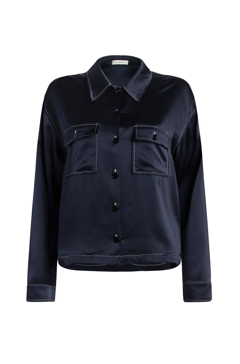 JACKET SHIRT NAVY