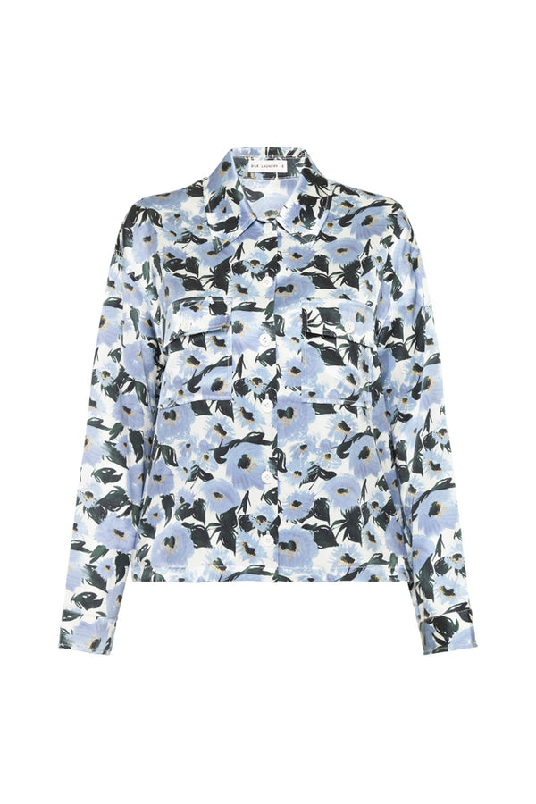 JACKET SHIRT FRENCH FLOWERS