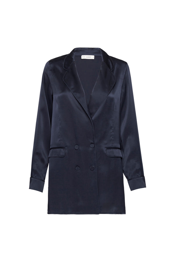 RELAXED BLAZER NAVY
