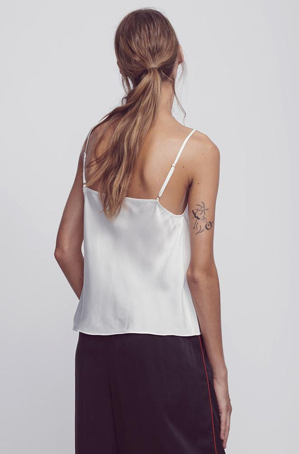 STRAIGHT NECK CAMI IVORY