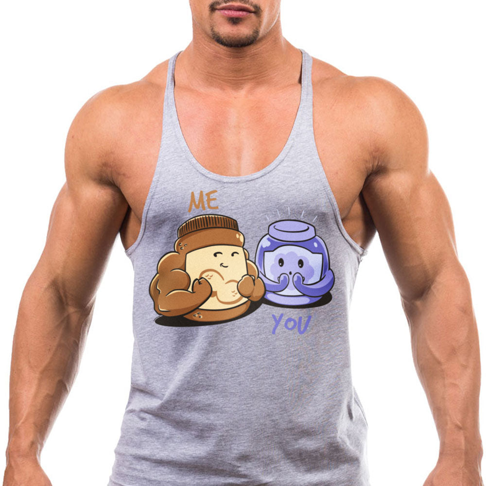 Peanut Butter and Jelly Stringer by TnT - You Jelly Bro?