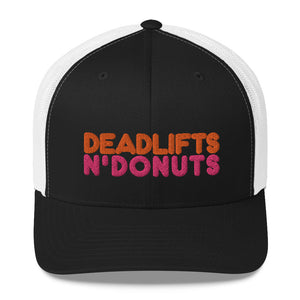 Deadlifts N' Donuts - Trucker Cap