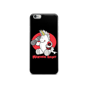 Maximum Effort - iPhone Case