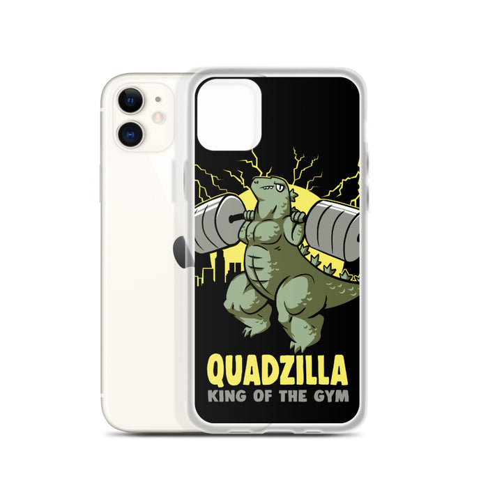 Quadzilla - iPhone Case