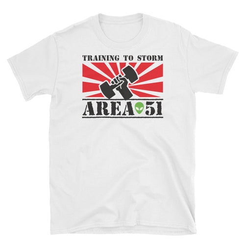 Training to storm Area 51 - T-Shirt